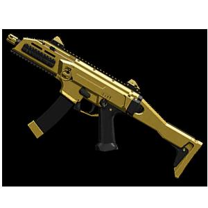 Золотой CZ Scorpion Evo3 A1 | Навсегда