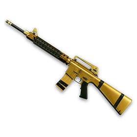 Золотая M16A3 Custom (1 д.)