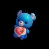 Большой синий медведь