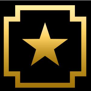 Золотой жетон (опыт) 5 шт