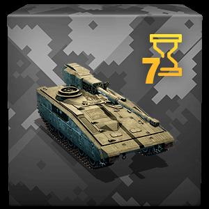 ЛТ 6-го уровня Expeditionary Tank в аренду на 7 дней.