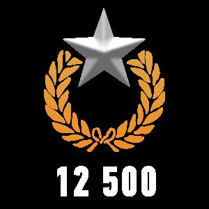 12 500 репутации