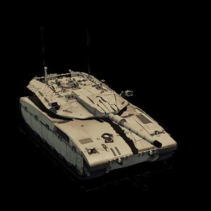 ОБТ 7-го уровня Merkava Mk. 2D