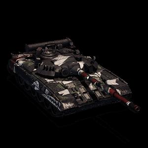 ОБТ 7-го уровня T-80У Shark